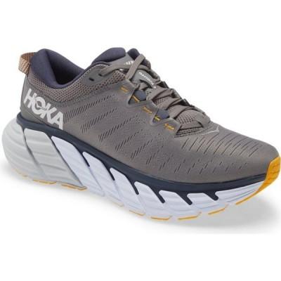 ホカ オネオネ HOKA ONE ONE メンズ ランニング・ウォーキング シューズ・靴 Gaviota 3 Running Shoe Charcoal Gray/Ombre Blue