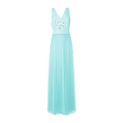 CASTING ロングワンピース&ドレス ライトグリーン 40 ポリエステル 97% / ポリウレタン 3% ロングワンピース&ドレス