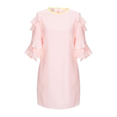 ピンコ PINKO ミニワンピース&ドレス ライトピンク 40 ポリエステル 100% ミニワンピース&ドレス
