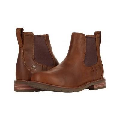 Ariat アリアト メンズ 男性用 シューズ 靴 ブーツ チェルシーブーツ Wexford H2O - Weathered Brown