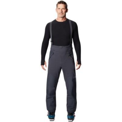 【倍倍ストア】(取寄)マウンテンハードウェア ハイ ゴアテックス ビブ パンツ - メンズ Mountain Hardwear High Exposure GTX C-Knit Bib Pant - Me 倍々ストア