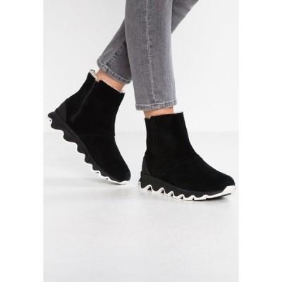 ソレル ブーツ&レインブーツ レディース シューズ KINETIC SHORT - Winter boots - black/sea salt