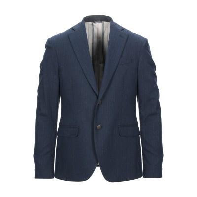 MEMORY'S LTD テーラードジャケット ダークブルー 46 コットン 100% / ポリエステル テーラードジャケット