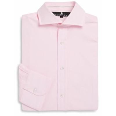 ルティーチェ Men Clothing Solid Cotton Dress Shirt