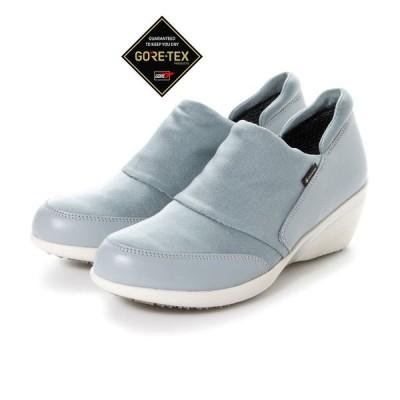 定価16,500円 madras Walk MWL1008 マドラスウォーク ゴアテックス GORE-TEX レディース 透湿防水 幅広 レースアップ スニーカー 婦人 靴 グレー