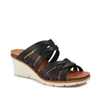 ベアトラップス レディース サンダル シューズ Bonnita Strappy Slip-on Wedge Sandals