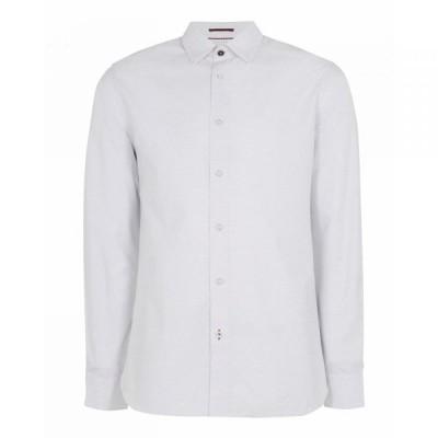 テッドベーカー Ted Baker メンズ シャツ トップス Lait Dobby Geo Print Shirt WHITE