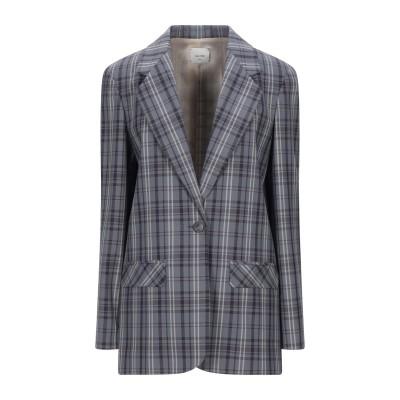 アリジ ALYSI テーラードジャケット ブルーグレー 40 ポリエステル 53% / バージンウール 44% / ポリウレタン 3% テーラードジ
