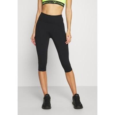 コットン オン ボディ レディース レギンス ボトムス ACTIVE CORE CAPRI - 3/4 sports trousers - black black