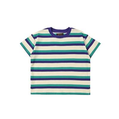 【MARKEY'S】【BIG FIELD】ボーダーカラーTシャツ