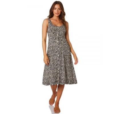 リズム Rhythm レディース ワンピース ワンピース・ドレス Venice Dress Navy floral