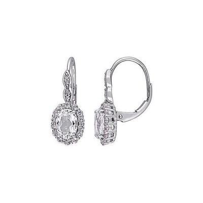 レディース アクセサリー  Rina Limor 14K 2.68 ct. tw. Diamond & White Topaz Earrings