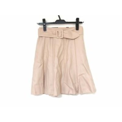 ブルーレーベルクレストブリッジ BLUE LABEL CRESTBRIDGE スカート サイズ34 S レディース 美品 ピンク【中古】20200529