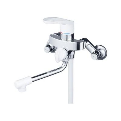 KVK 寒 シングルレバー式シャワー 逆止弁付 ※取寄品 KF5000W