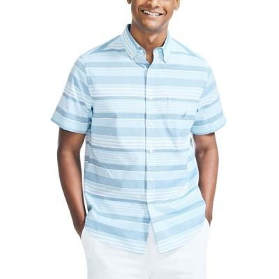 ナウティカ メンズ シャツ トップス Men's Classic-Fit Stripe Shirt