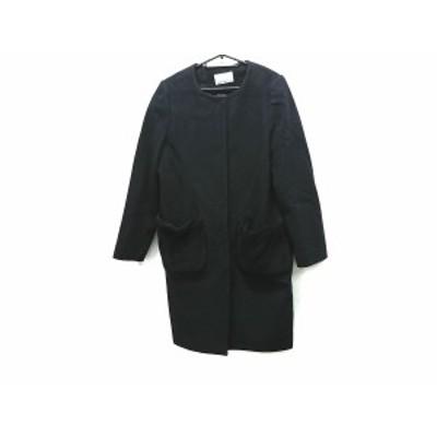 エムプルミエブラック M-premierBLACK コート サイズ38 M レディース 美品 - ダークネイビー 長袖/冬【中古】20210202