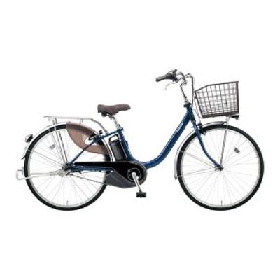 PANASONIC BE-ELL432-V2 ファインブルー ビビ・L [電動アシスト自転車(24インチ・内装3段)]