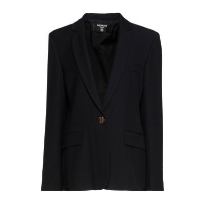 バルマン BALMAIN テーラードジャケット ダークブルー 44 レーヨン 72% / バージンウール 28% テーラードジャケット