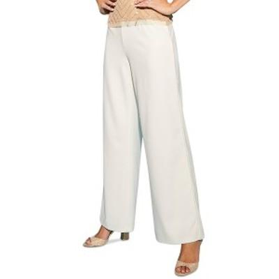 アドリアナ パペル レディース カジュアルパンツ ボトムス Embellished Trousers Ivory