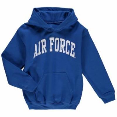 Fanatics Branded ファナティクス ブランド スポーツ用品  Air Force Falcons Youth Royal Basic Arch Pullover Hoodie