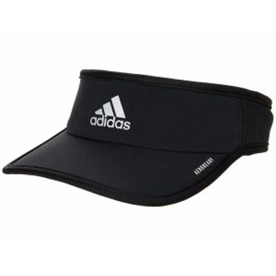 アディダス メンズ 帽子 アクセサリー Superlite Performance Visor Black/White 1