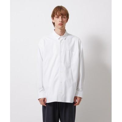 SUVIN TWILL / オーバーサイズシャツ(UNISEX)