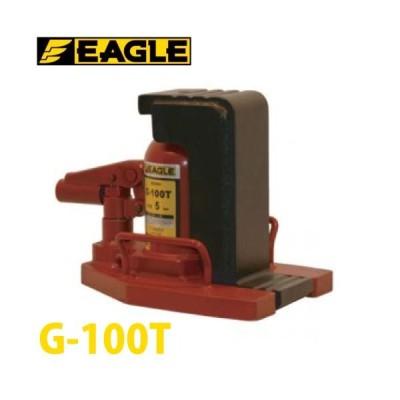 今野製作所 低床 爪付ジャッキ 5tX10t 標準タイプ G-100T イーグルジャッキ