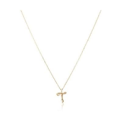 [ザ・リトル・クラシックス] ダイヤモンド 0.01ct イエローゴールド K10 ネックレス 109P0103T