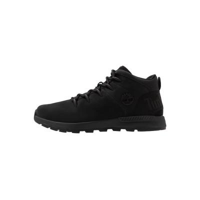 ティンバーランド ブーツ&レインブーツ メンズ シューズ SPRINT TREKKER MID - Lace-up ankle boots - black