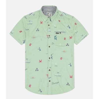 ジェッティ メンズ シャツ トップス Jetty Men's Shenanigans Woven Shirt