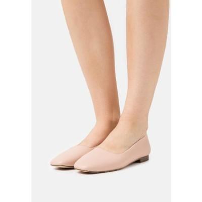 レディース 靴 シューズ ELWOOD - Ballet pumps - nude