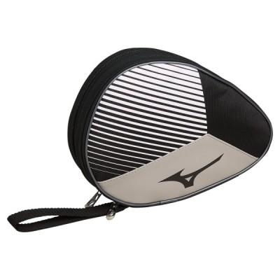 MIZUNO ミズノ ラケットソフトケース2 ブラック×ホワイト 卓球 83JD0002 90
