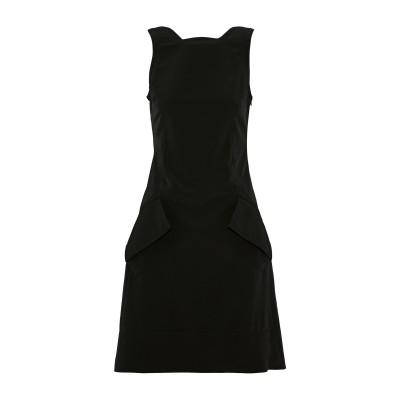 アントニオ ベラルディ ANTONIO BERARDI ミニワンピース&ドレス ブラック 38 ポリエステル 100% ミニワンピース&ドレス