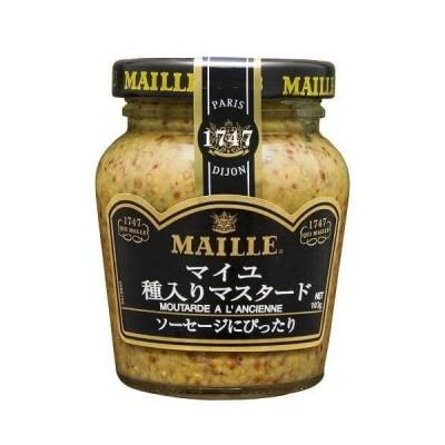 【ya】 マイユ 種入りマスタード 瓶(103g)