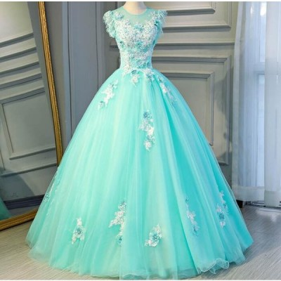 カラー パーティードレス 安い 花嫁ウェディングドレス カラードレス ステージ衣装 披露宴 演奏会 結婚式 二次会ドレス