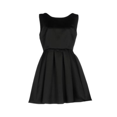 ダーリン DARLING London ミニワンピース&ドレス ブラック 10 ポリエステル 100% ミニワンピース&ドレス