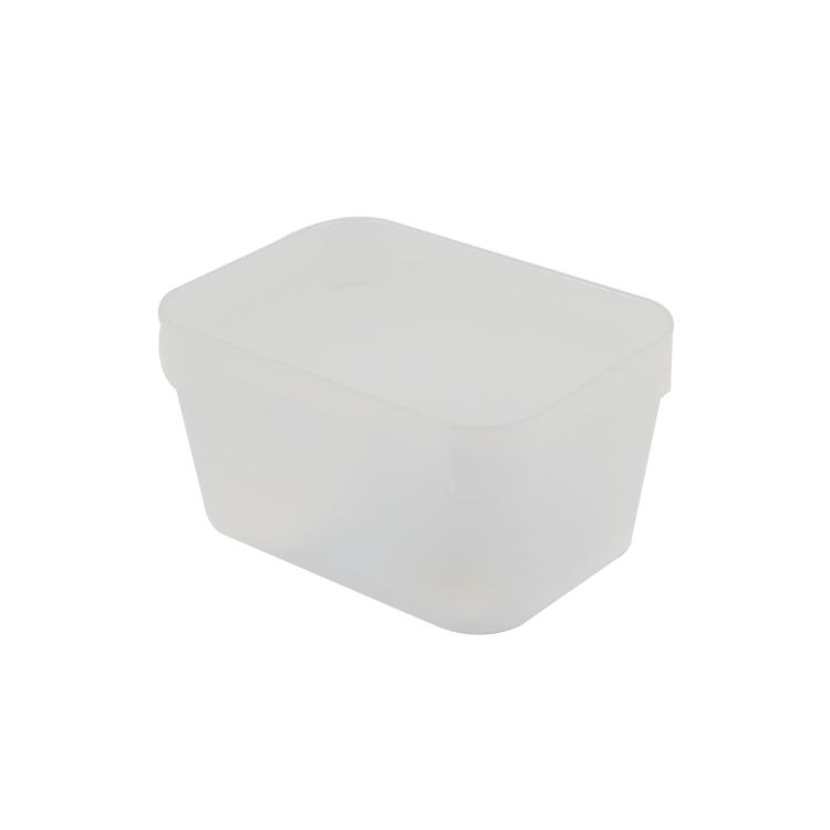 KEYWAY 寶來1號深型整理盒-透明/飾品小物收納盒/桌上型文具收納盒