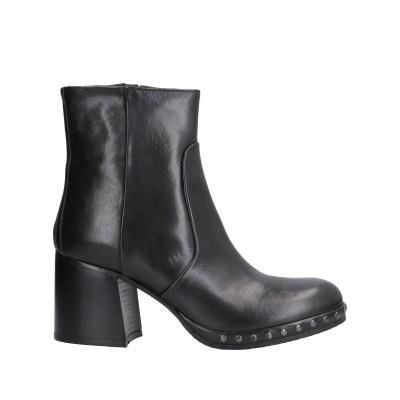 PICCADILLY ショートブーツ ブラック 35 革 ショートブーツ
