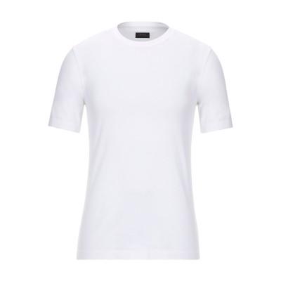ZZEGNA T シャツ ホワイト XS コットン 100% T シャツ