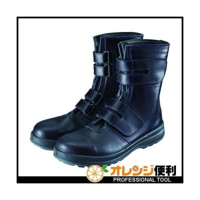 SIMON シモン 安全靴 マジック式 8538黒 24.0cm 8538N-24.0 【152-5042】