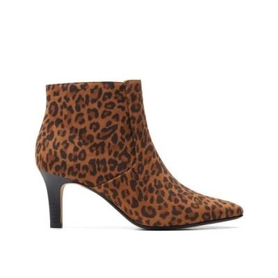 クラークス ブーツ&レインブーツ シューズ レディース Collection Women's Ileana Petal Boots Leopard Pr