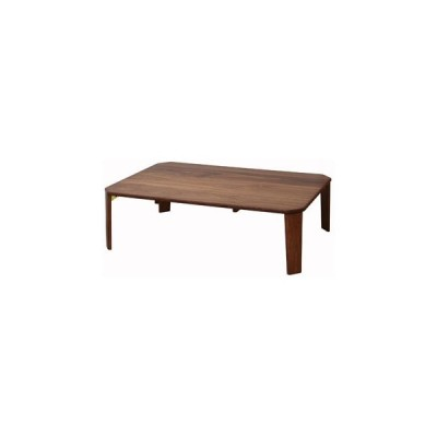 ICHIBA/イチバ【メーカー直送代引不可】  bois/ボイス テーブル105 T-2452BR ブラウン