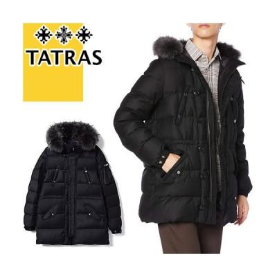 タトラス TATRAS ダウン ダウンジャケット ダウンコート フォンド メンズ ミドル丈 ウール ブランド 大きいサイズ 黒 ブラック