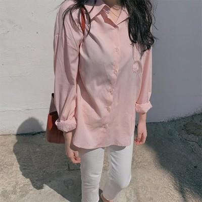 GIVEU レディース ブラウス Sky silky blouse