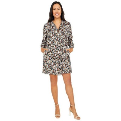 ニックプラスゾーイ レディース ワンピース トップス Painted Leopard Dress