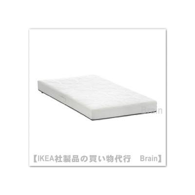IKEA/イケア JATTETROTT ポケットスプリングマットレス ベビーベッド用60x120x11 cm ホワイト/グレー