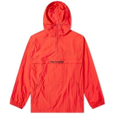 ポリシーン オプティクス Polythene Optics メンズ ジャケット アウター Popover Jacket Red/Black