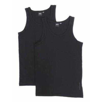 BOSS ボス ファッション 下着 Hugo Boss Mens 2-Piece Slim Fit Tank Top Shirt