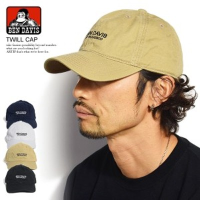 BEN DAVIS ベンデイビス TWILL CAP メンズ キャップ ローキャップ カーブキャップ 帽子 ストリート bendavis ベンデービス atfcap