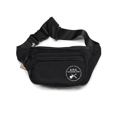 A.P.C. アーペーセー ナイロン ボディバッグ ウエストポーチ イタリア正規品 新品 H62134 鞄